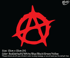 Anarchy Logo Car Sticker Reflective  Truck Window Funny Decal Best Gifts-