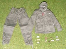 DRAGON IN DREAMS 1/6 WW II GERMAN STEINER LOOSE TUNIC - TROUSERS - CAP