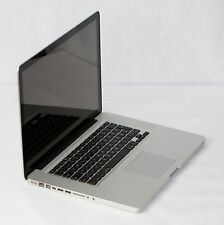 "Apple MacBook Pro 15,4"" A1286 MC723D/A i7 2,2GHz 256GB SSD 8GB RAM DVD Garantie"