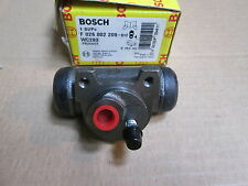 PUEGEOT 207 & 405 RIGHT HAND REAR WHEEL CYLINDER BOSCH F 026002209