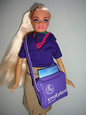 SMALL PLANET AIRLINES ORIGINAL STEWARDESS FLIGHT ATTENDANT DOLL .NEW