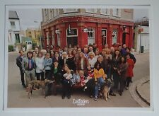 Eastenders Cast photo late 1990s printed signatures on back