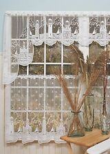 Heritage Lace LIGHTHOUSE Swag Pair 72x32 White