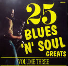 VARIOUS ARTISTS CD 25 BLUES 'N' SOUL GREATS VOL 3 FREE POST WITHIN AUSTRALIA