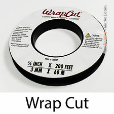 """WrapCut"" - 60m, fil de coupe film vinyl, adhésif, covering, wrap, Filament Tape"