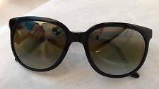 Vintage VUARNET Pouilloux France 002 PX Black Sunglasses RX able 54-20-145