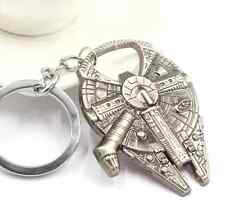 Star Wars Millennium Falcon Force Metal Bottle Opener Keyring Gift