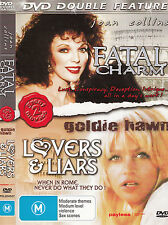 Fatal Charm-1978-Joan Collins/Lovers And Liars-1979-Goldie Hawn-2  Movie-DVD