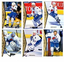 1X QUEBEC NORDIQUES 1994-1995 SP COMPLETE TEAM SET 94-95 NMMT Bulk Lot Available