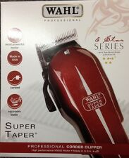 WAHL PROFESSIONAL SUPER TAPER HAIR CLIPPER NEW ORIGINAL - AUTHORIZED UK SELLER