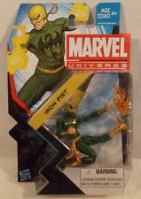 "Marvel Universe 3.75"" Series 5 #002 Iron Fist Hasbro  Mint On Card"