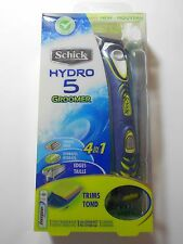 Schick Hydro 5 Groomer 4-in-1 Power Trimmer Razor System w/Cartridge+ Battery
