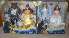 BEAUTY AND THE BEAST MOVIE DOLL COLLECTION SETS- BEAST AND HUMAN, BOTH UNOPENED
