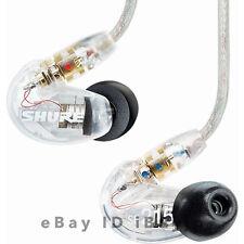 Shure SE215-CL Clear Dynamic MicroDriver In-Ear Headphones SE215CL-J