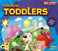 SCHOOLTOWN TODDLERS  Games Puzzles & Much More--all at multiple levels of play