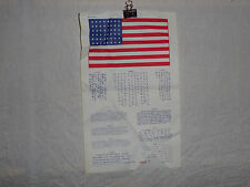 flag411 Koran war era  US Military Blood Chit