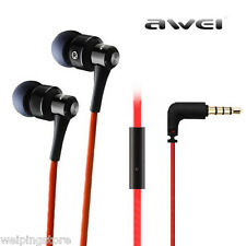 Awei ES500i In ear Headset Super Bass Headphone Earphone W/Mic For Cell phone