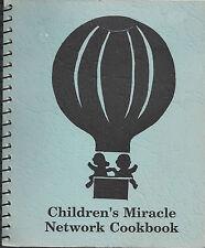 *PELLA IA 1990 WALMART EMPLOYEES & FRIENDS COOK BOOK *CHILDREN'S MIRACLE NETWORK