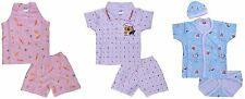 New Born Baby Infant Girl Boy Cotton Cloth Summer Set  From Little Bunnies