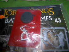 LOTR BATTLE GAMES OF MIDDLE EARTH MAGAZINE 43 WITH FARAMIR MOUNTED