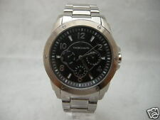 Authentic Vince Camuto VC-5043BKSV Multifunction Stainless Steel Women Watch