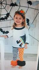 Mud Pie girls 2T Halloween outfit witch