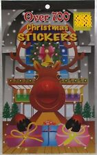 700 Christmas Stickers - Reindeer on Cover - New