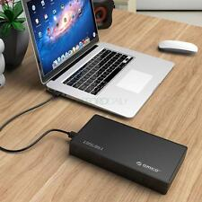 "New ORICO Portable 3.5"" USB3.0 SATA 3.0 HDD Hard Drive External Enclosure for PC"