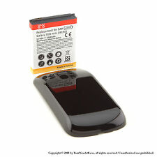 3500mAh Extended Battery for Samsung Galaxy S 3 III Mini i8190 Black Cover