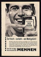 3w2275/ Alte Reklame von 1960 - MENNEN Rasierwasser