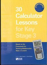 30 Calculator Lessons For Key Stage 3 - TI-83 & TI-84 Graphic Calculators