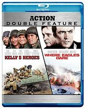 Kelly's Heroes / Where Eagles Dare, [Blu-ray] PG, Clint Eastwood, Telly Savalas