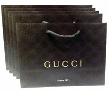 Gucci Gift Paper Shopping Bags, 5pk, New, Free Shipping