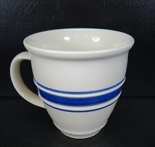 Tienshan Country Crock Mugs Blue Band Trim