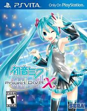 Hatsune Miku: Project Diva X with Hatsune Miku Pouch (PS Vita, 2016)