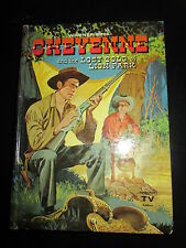 VINTAGE CHILDREN'S BOOK~WHITMAN PUBLISHER~CHEYENNE & the LOST GOLD of LION PARK~
