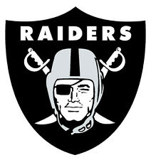 Oakland Raiders NFL Color Die-Cut Decal / Car Sticker *Free Shipping