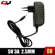 Universal 5V 3A 2.5mm*0.8mm EU charger Android Tablet pc power Adapter supply