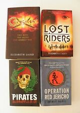 BOYS BOOK BUNDLE ~ CRUSADE/LOST RIDERS/OPERATION RED JERICHO/PIRATES ~ Signed1st