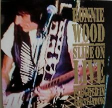 Ronnie Wood Slide On Live-plugged in and standing continuum Records CD RARE!