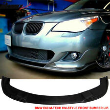04-10 BMW E60 E61 M-Tech & M-Sport Only Front Bumper Lip Carbon Fiber CF
