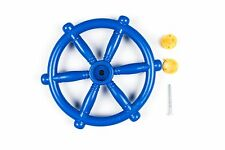 BLUE PIRATE SHIP BOAT STEERING WHEEL CLIMBING FRAME Playhouse Tree Jungle GYM