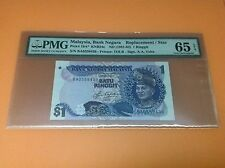XT RM 1 5TH SERIES AZIZ TAHA REPLACEMENT BA PMG 65 EPQ GEM UNC *RARE