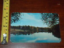 POSTCARD OLD REMINTON POND SUMMER PLAYGROUND OF CAMP DRUM NEW YORK