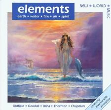 ELEMENTS New World Artists - CD, Terry Oldfield, Medwyn Goodall, Asha Quinn etc