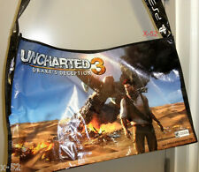 UNCHARTED 3 / STARHAWK PS3 game swag BAG comic con SDCC san diego