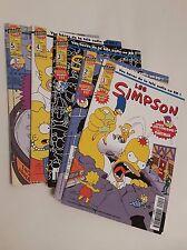 Les Simpsons BD Bongo numéros 1 à 5