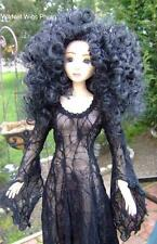 WIG for SUPER DOLLFIE Size 8-9  Stormy Weather BLACK