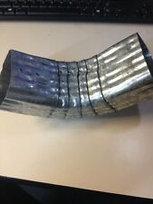 NEW Corrugated Gutter Elbow 2x3 Galvanized A