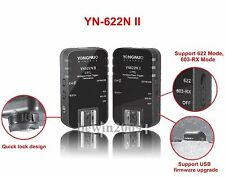 YN-622N II Wirelss Transceivers For Nikon YN467N YN560 YN568N N565N SB600 Flash